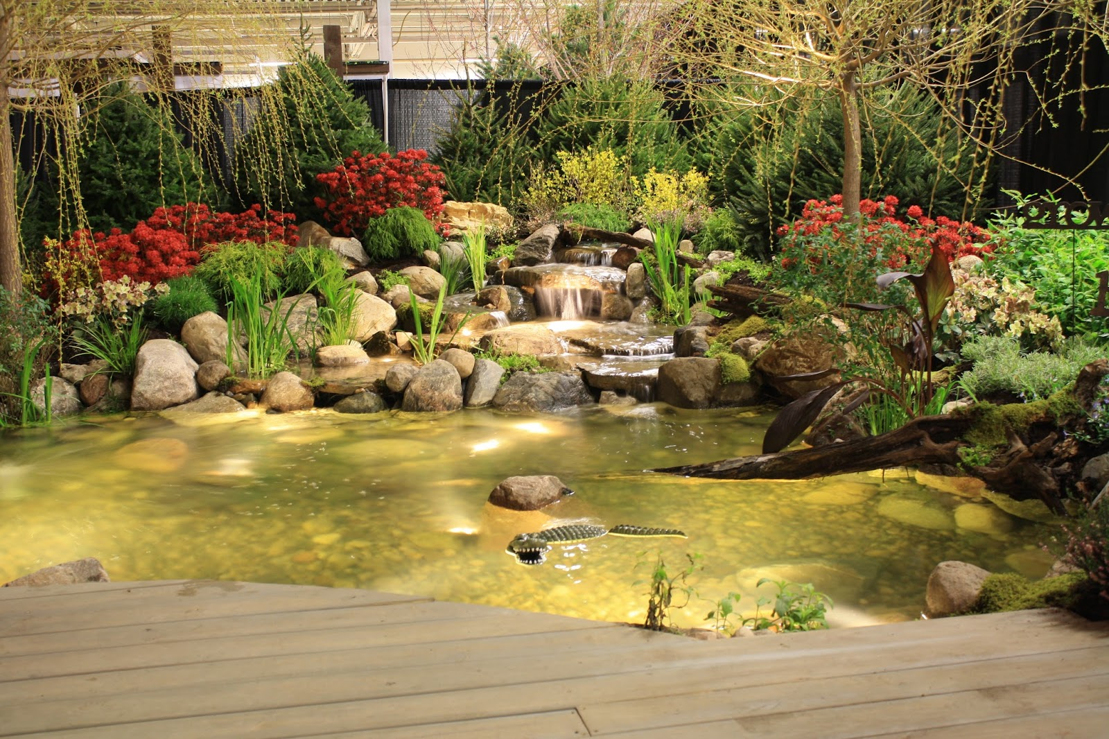 how to install pond lighting