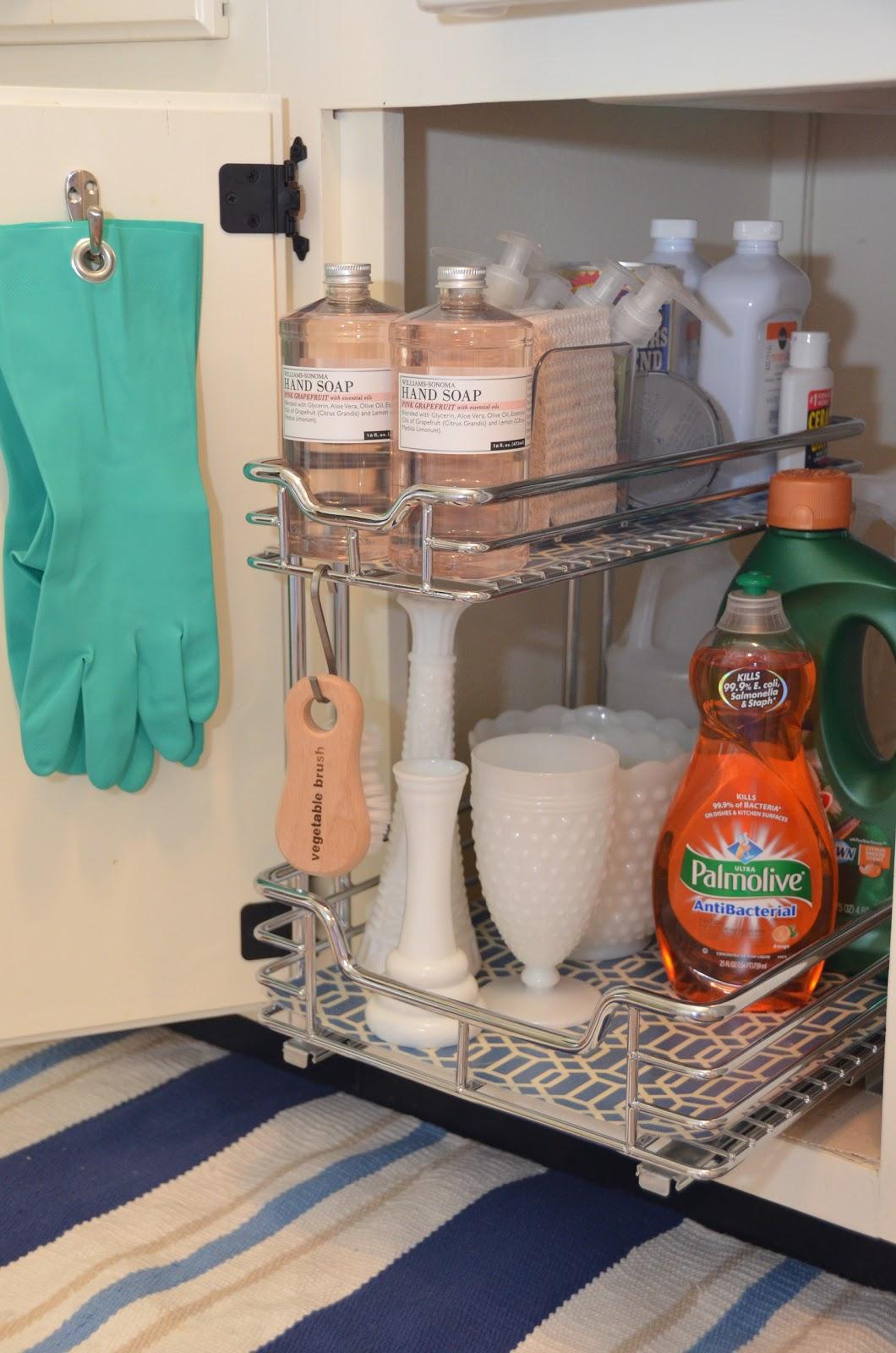 under kitchen sink storage ninja com iron and twine
