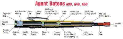 ASP Agent A40 Baton