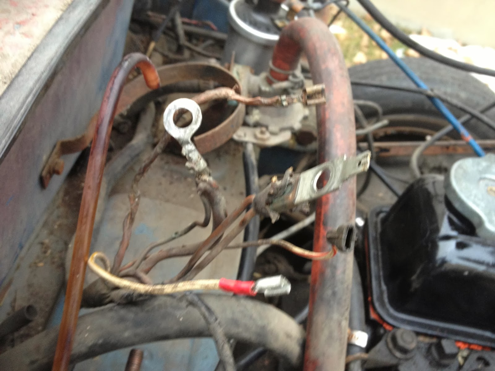 Wiring Woes Continued And Dash Dismantle 1973 Triumph Spitfire
