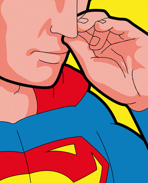 GUILLEMIN. Secret Hero Lives.Doctor Ojiplatico