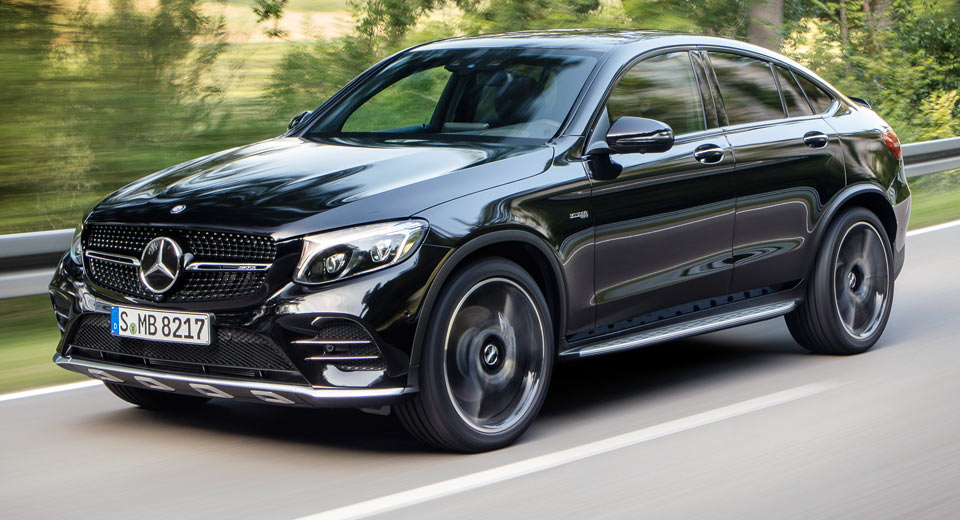 new mercedes amg glc 43 4matic coupe spices things up with bi turbo v6. Black Bedroom Furniture Sets. Home Design Ideas