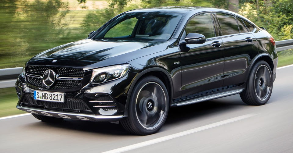 New mercedes amg glc 43 4matic coupe spices things up with for Mercedes benz amg range