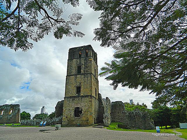 Ruínas da Catedral de Panamá Viejo