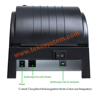 Tutorial Pemasangan printer thermal, printer dot matrix, barcode scanner, cash drawer pada windows seven