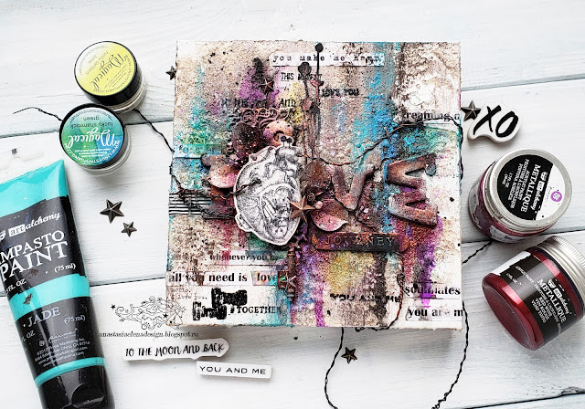 @nastyalena #mixedmedia #canvas