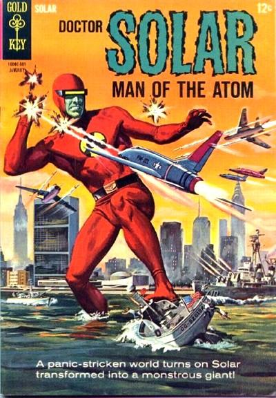 captain atom vs dr manhattan