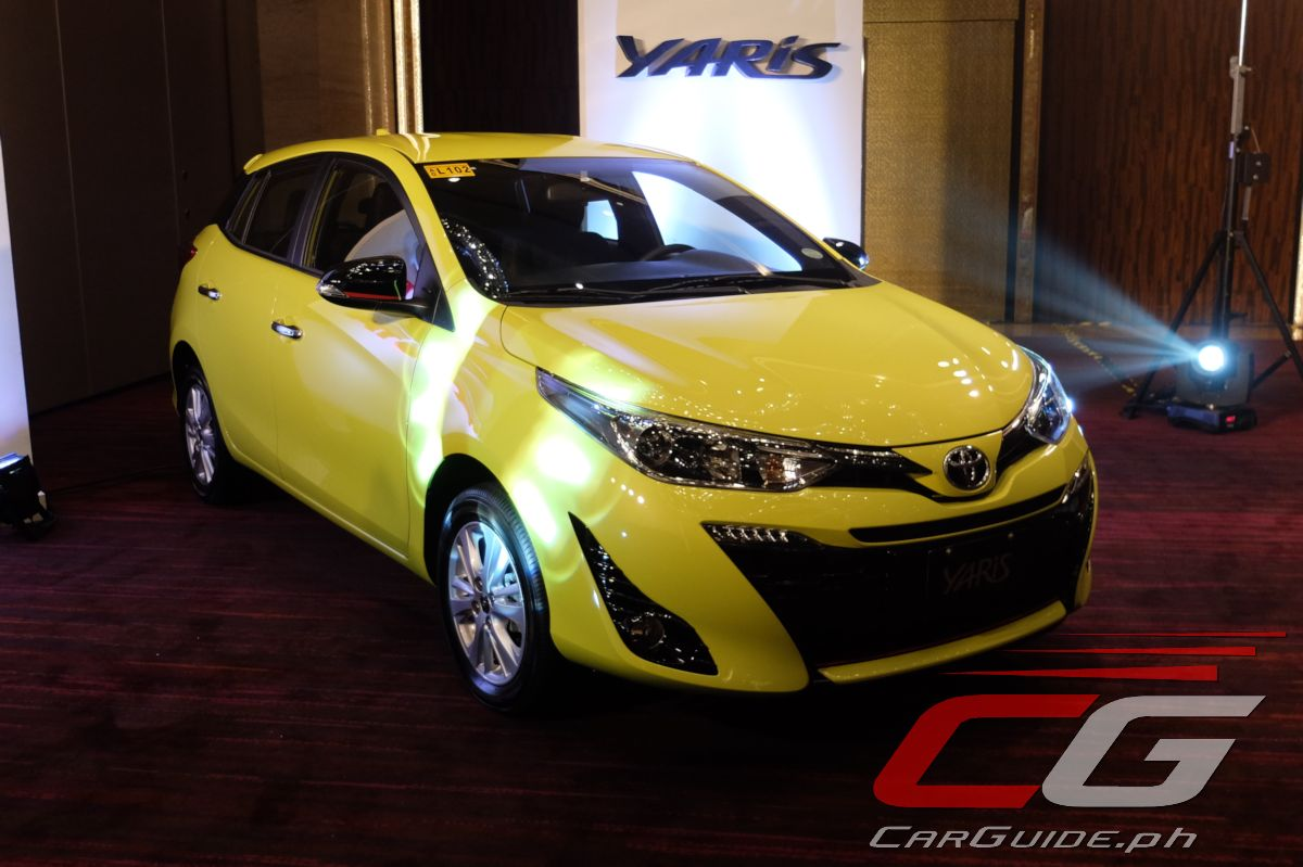 Toyota Yaris Trd Philippines All New Alphard Facelift 21 Photos Of The 2018 Philippine Car News