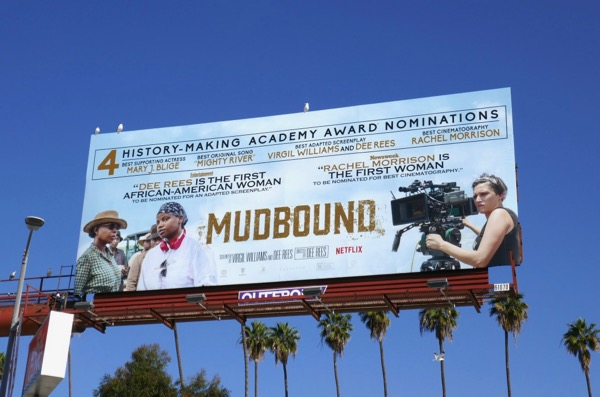 Mudbound Oscar nominee billboard