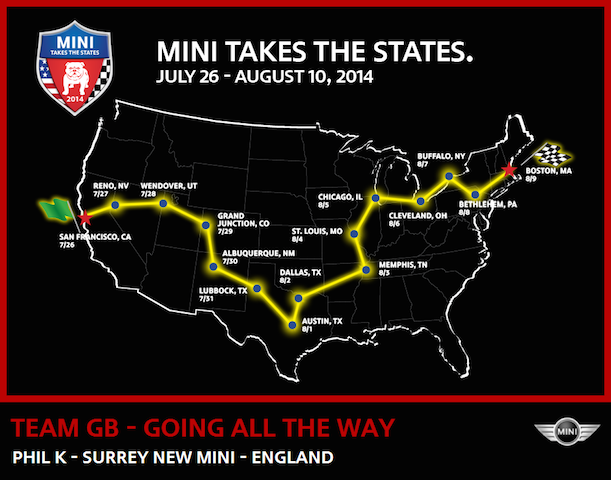 Mini Takes The States 2014
