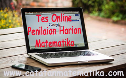 Tes Online Penilaian Harian Matematika