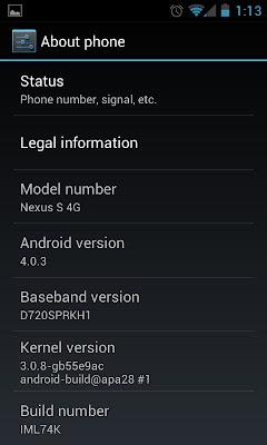 Tutorial: Como colocar o Android 4.0 Ice Cream Sandwich no Nexus S 3