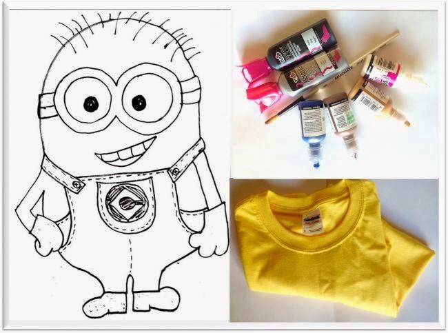 Diy Minion T Shirt Craft Ideas Minion Costume Despicable Me Ideas