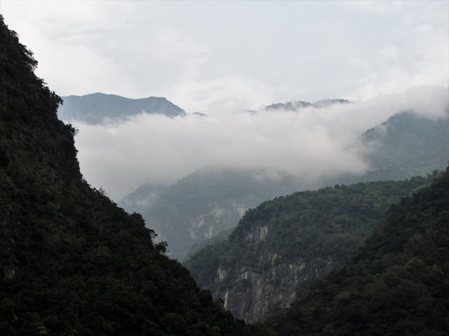 mountains taroko gorge taiwan