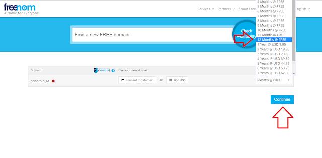 Cara Mendapatkan Domain Gratis Dari Freenom
