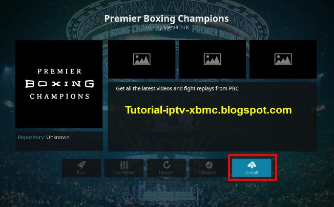 Premier Boxing Champions Kodi Addon - Watch Boxing Replays On Kodi