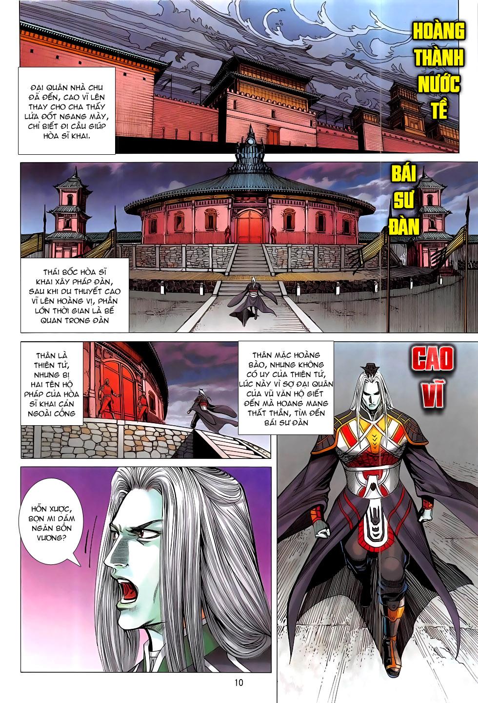 Chiến Phổ chapter 17: chiến thần phẫn nộ trang 10