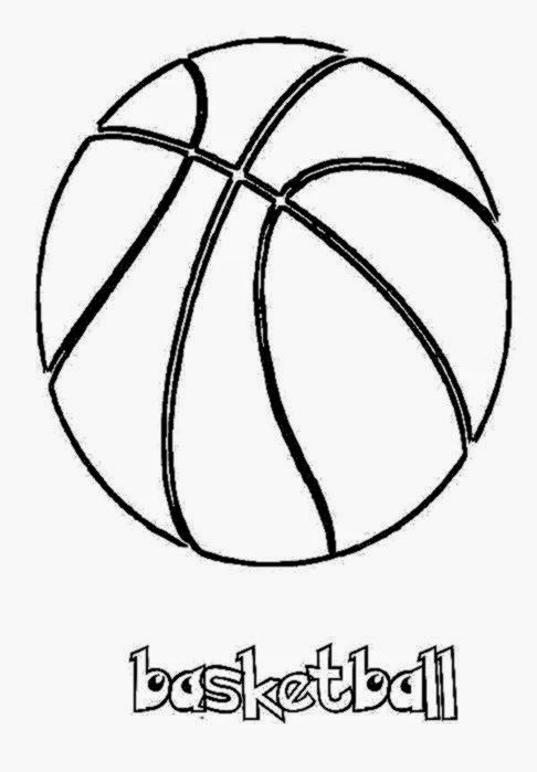 Basketball pictures to color free coloring pictures for Basketball coloring pages nba