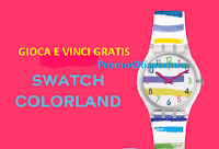 Logo Swatch on the beach: vinci gratis 10 orologi e weekend in Sicilia