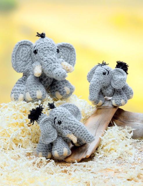 elephant Crochet pattern