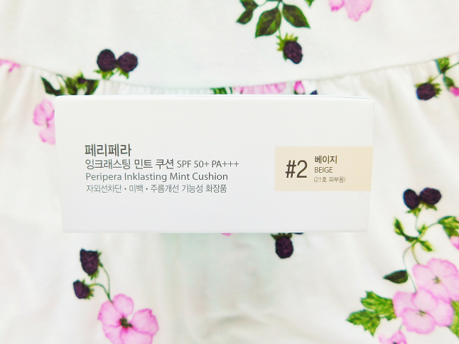 Peripera Ink Lasting Mint Cushion Review