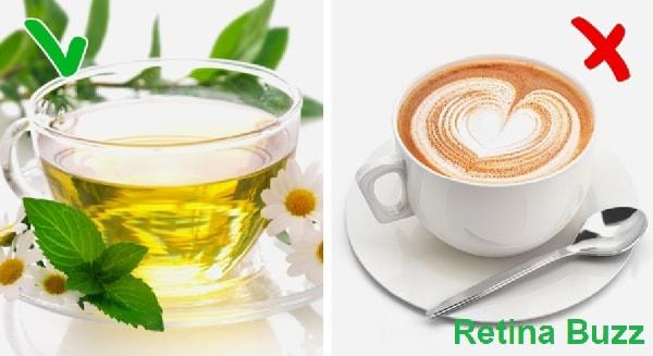 الشاي و القهوة
