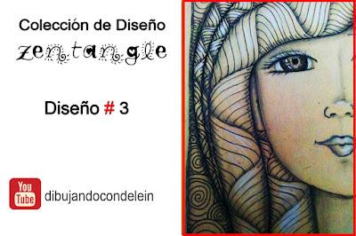 Dibujando Con Delein Como Dibujar Zentangle Art Paso A Paso Diseno 3