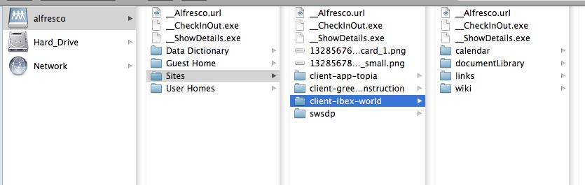 WhiteBoard Coder: Mounting Alfresco 4 as a CIFS/SMB Hard drive mount