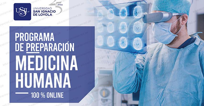 USIL lanza programa de preparación medicina humana 100% online