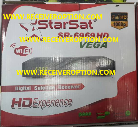 STARSAT SR-6969 HD VEGA RECEIVER POWERVU KEY NEW SOFTWARE
