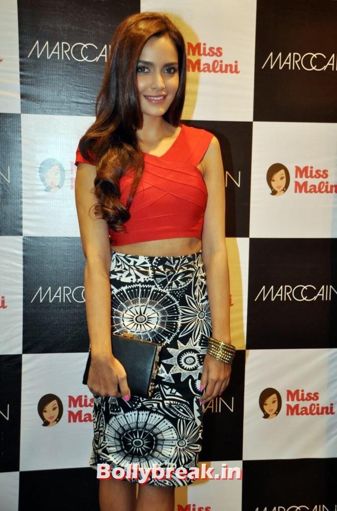Shazahn Padamsee  First there was Shazahn Padamsee in a trademark Marc Cain pencil skirt