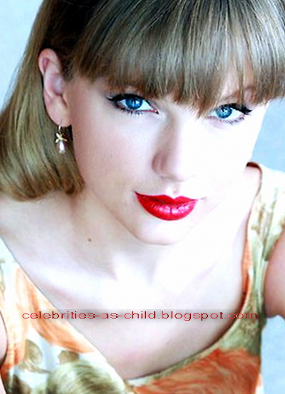 celebrities as a child taylor swift childhood photos