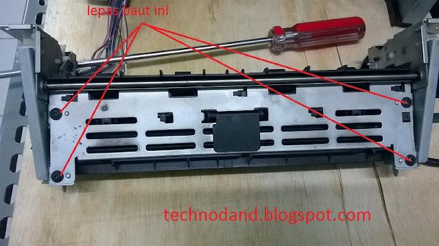 Cara Ganti Fuser Film dan Pressure Roll printer laser hp 2035