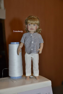 джинсы для куклы