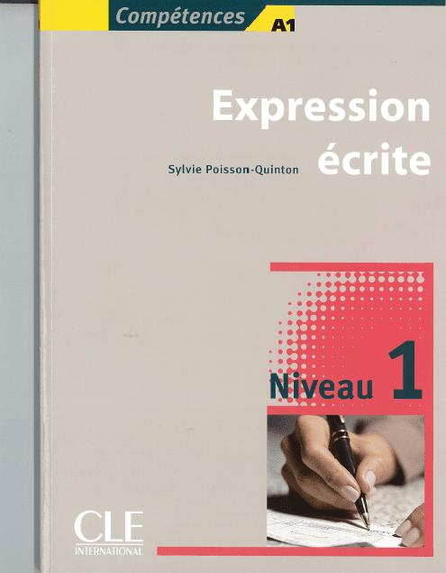 Livre: Expression écrite Niveau débutant pdf gratuit - Compétences A1