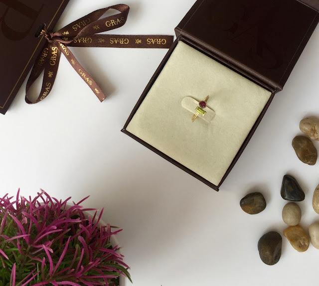 טבעת זהב 14 קראט שילוב אבן חן להשיג ברשת ג.ר.א.ס