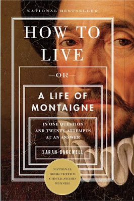 How to Live - A Life of Montaigne cover