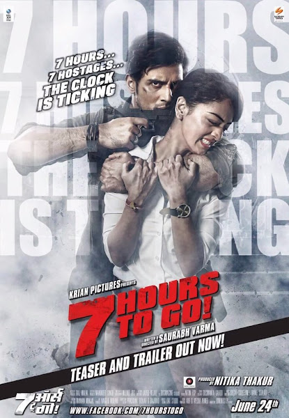 Poster Of 7 Hours To Go 2016 720p Hindi DVDRip Full Movie Download