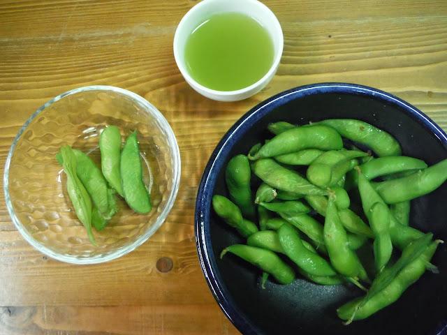 japon nourriture edamame