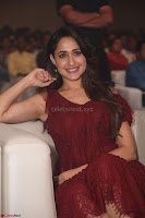 Pragya Jaiswal in Stunnign Deep neck Designer Maroon Dress at Nakshatram music launch ~ CelebesNext Celebrities Galleries 147.JPG