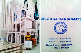 Calsium carbonat made in indonesia CV Prima jaya niaga west sumatra