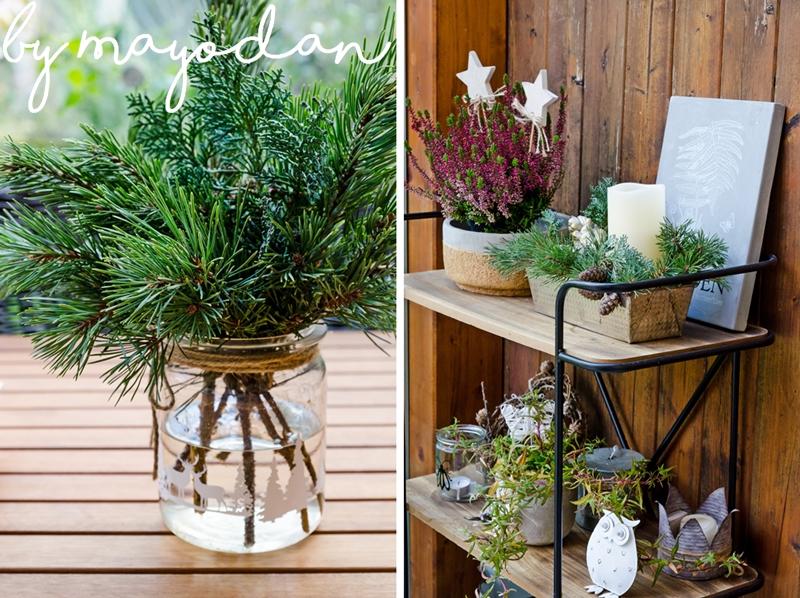 weihnachtsdeko f r die terrasse mayodans home garden crafts. Black Bedroom Furniture Sets. Home Design Ideas