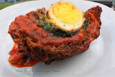 Polpettone Italian Stuffed Meatloaf