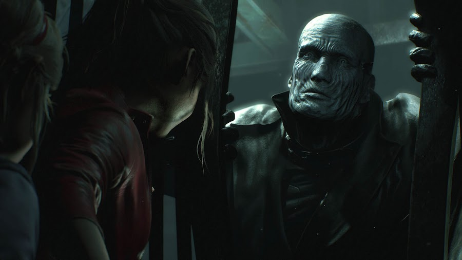 resident evil 2 remake claire redfield mr. x screens 2