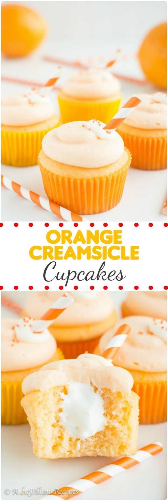 Best Orange Creamsicle Cupcakes Recipe | Dessert Recipes Easy, Dessert Recipes Healthy, Dessert Recipes For A Crowd, Dessert Recipes Cupcakes, Dessert Recipes Simple, Dessert Recipes Best, #cupcakes #dessert #dessertrecipe #cupcakesrecipe #creamsicle