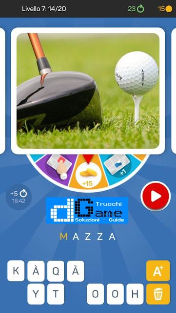 Kezako: Immagine Misteriosa soluzione pacchetto 7 livelli (1-20)