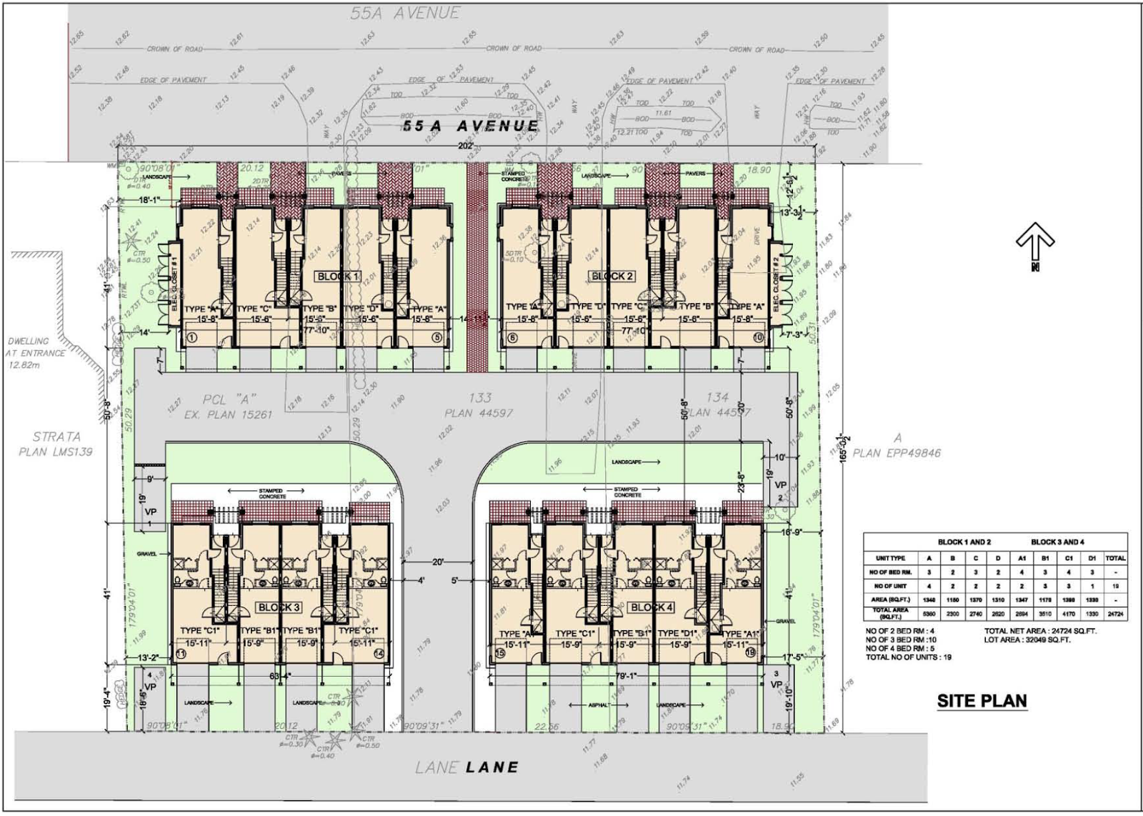 The south fraser blog october 2016 for 4 unit townhouse plans
