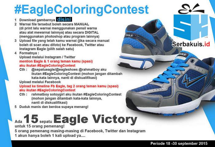 Kontes Mewarnai Eagle