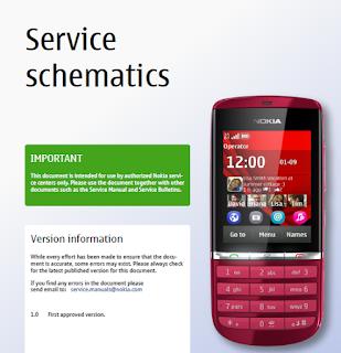 Download schematic Nokia Asha 30+0 RM-781 1