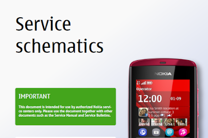 Download schematic Nokia Asha 300 RM-781